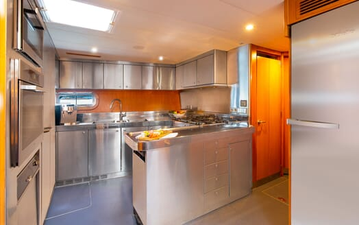 Sailing Yacht SILVERTIP Galley