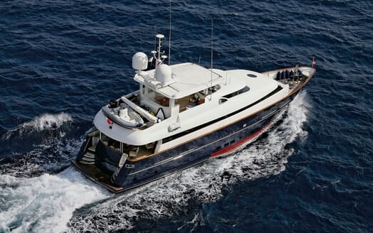 Motor Yacht SUPERBA 88 Underway