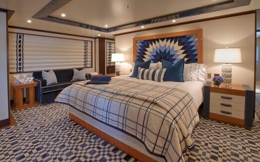 Motor Yacht CYNTHIA Master Stateroom