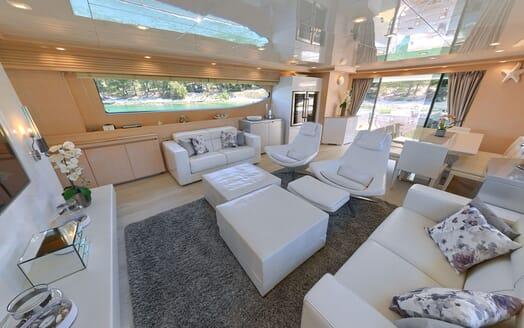 Motor Yacht Tuscan Sun interior design