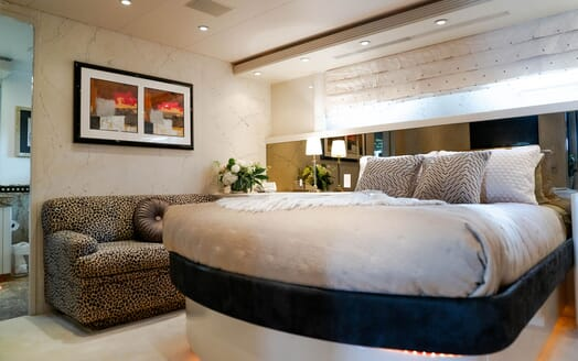 Motor Yachts INVISION Guest Double Stateroom