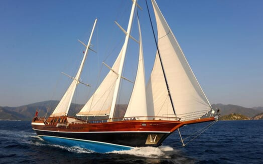 Sailing Yacht Queen of Datca sailing