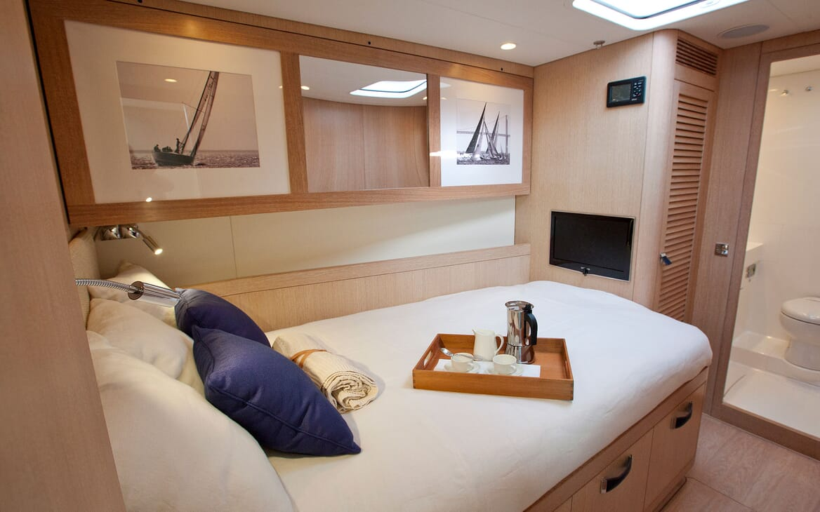 Sailing Yacht ANANDA Guest Double Stateroom