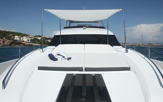 Motor Yacht Samakanda sun lounger