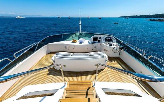 Motor Yacht NEW STAR Sun Deck Wheel