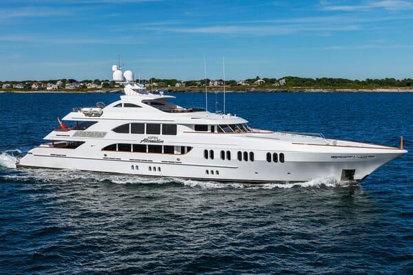 Motor Yacht ASPEN ALTERNATIVE Profile
