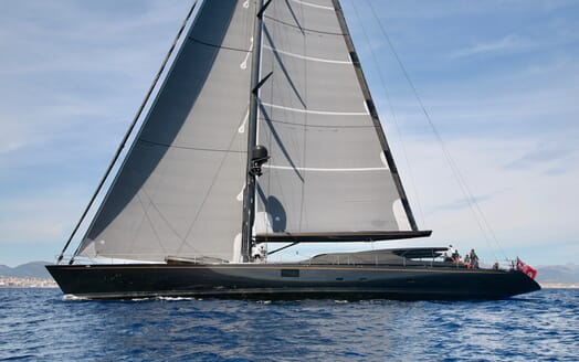 Sailing Yacht Zalmon sailing