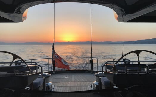 Sailing Yacht Zalmon helm