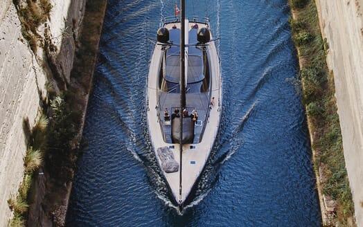 Sailing Yacht Zalmon aerial