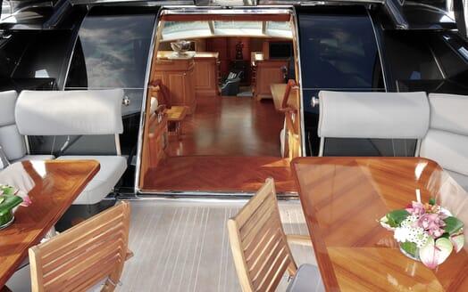 Sailing Yacht Zalmon cockpit
