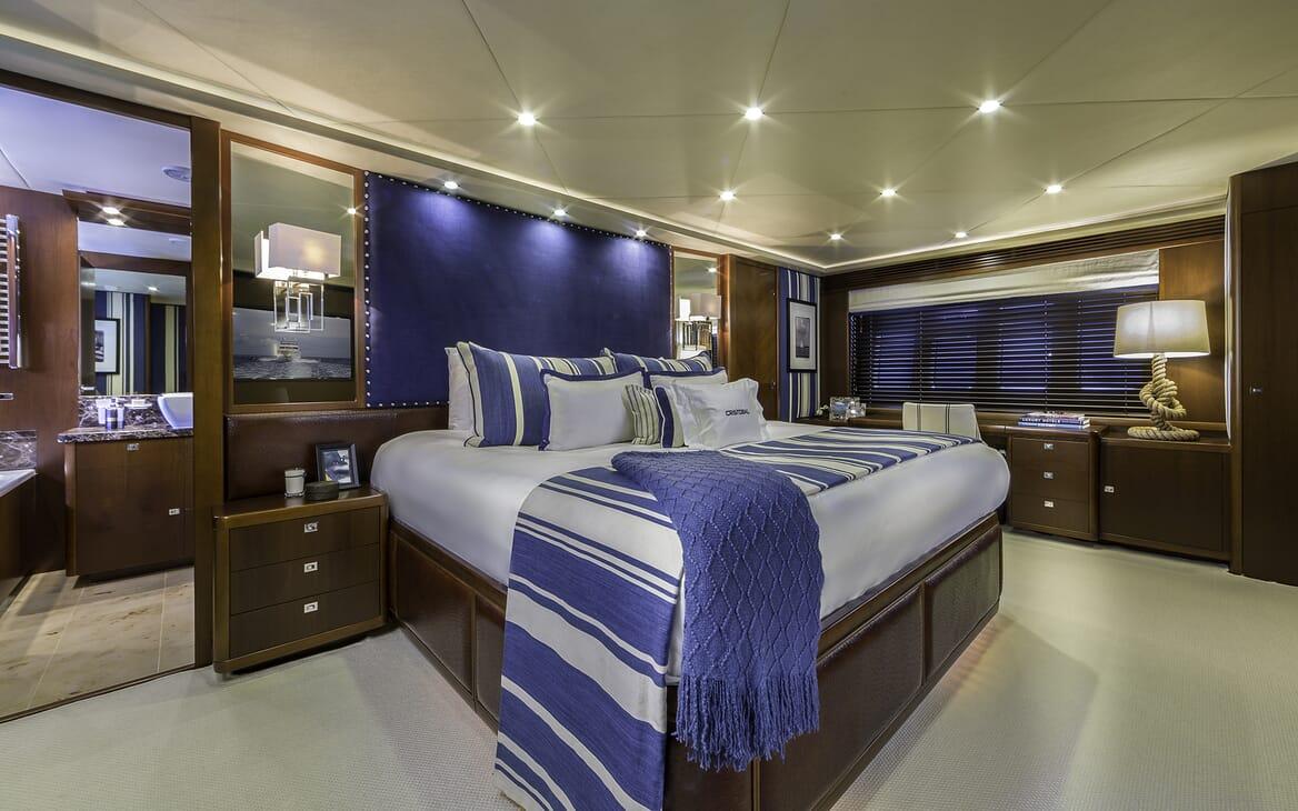 Motor Yacht Cristobal master cabin