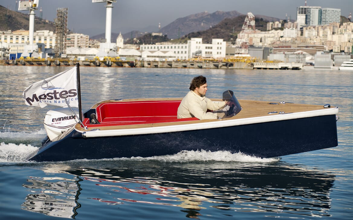Sailing Yacht Adesso tender