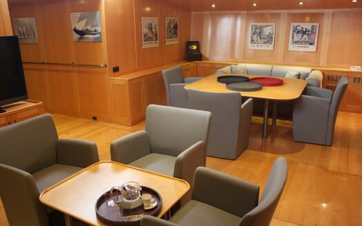 Sailing Yacht Adesso living area