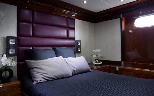 Motor Yacht Indigo Star I Guest Double Stateroom