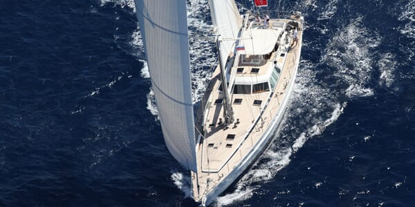 Sailing Yacht Scorpius sailing