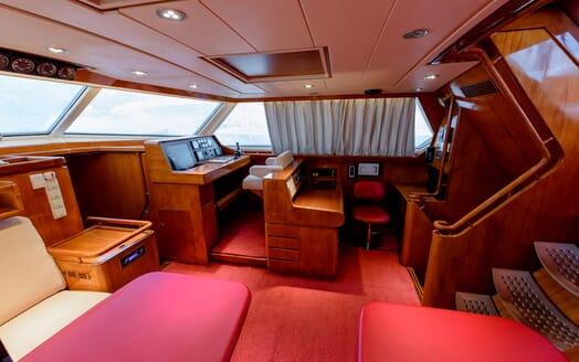 Sailing Yacht Scorpius living area