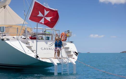 Sailing Yacht Cavallo exterior