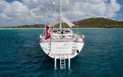 Sailing Yacht Cavallo food