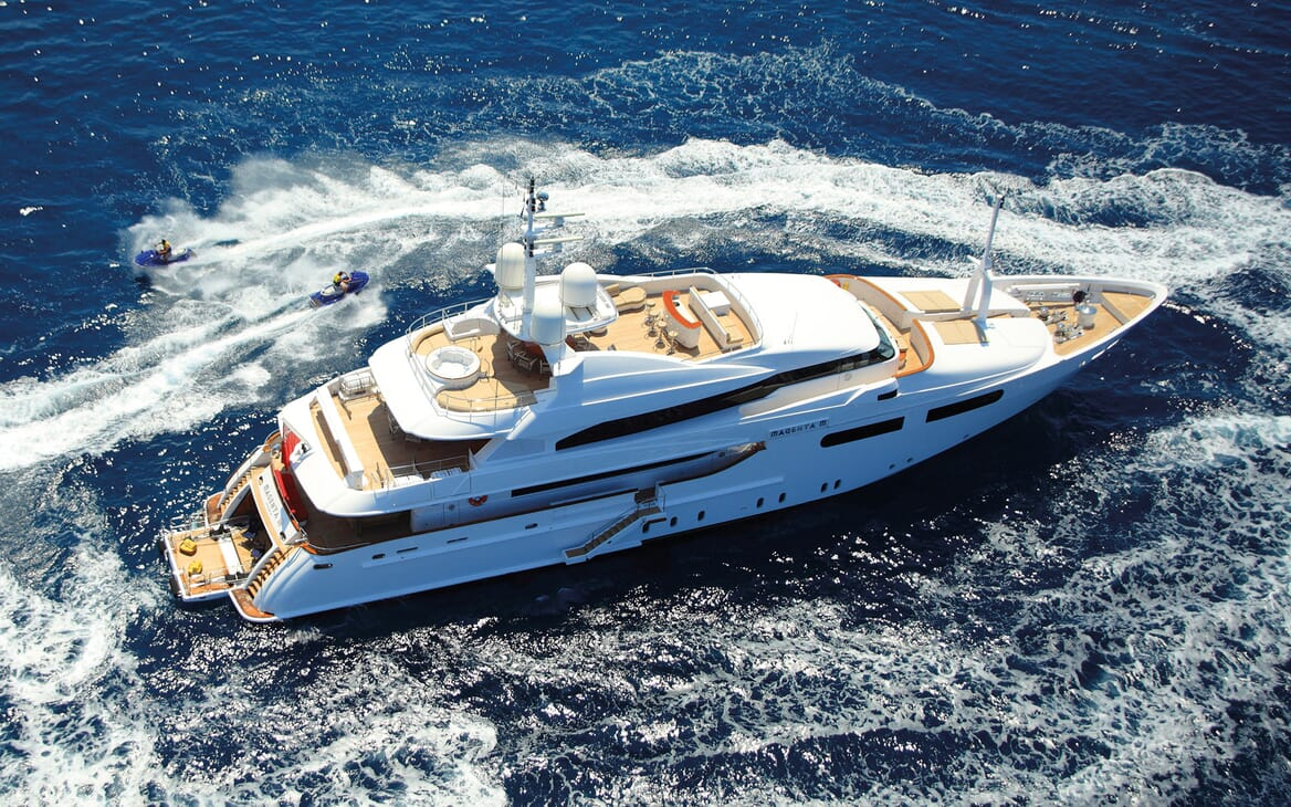 Motor Yacht MAGENTA M Hero Profile