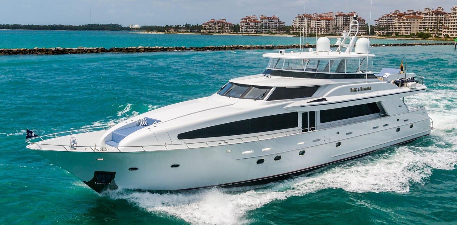 Motor Yacht RISK & REWARD Hero Profile