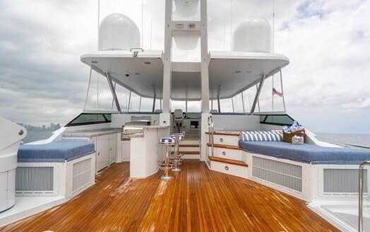 Motor Yacht RISK & REWARD Sun Deck