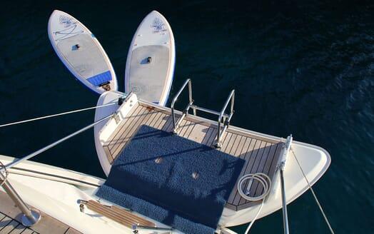 Sailing Yacht CAMILLA OF LONDON Fold DOwn Swim Platform